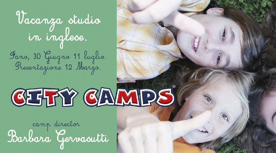 city camp fano locandina