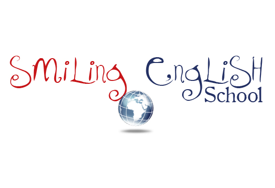 smiling english school logo