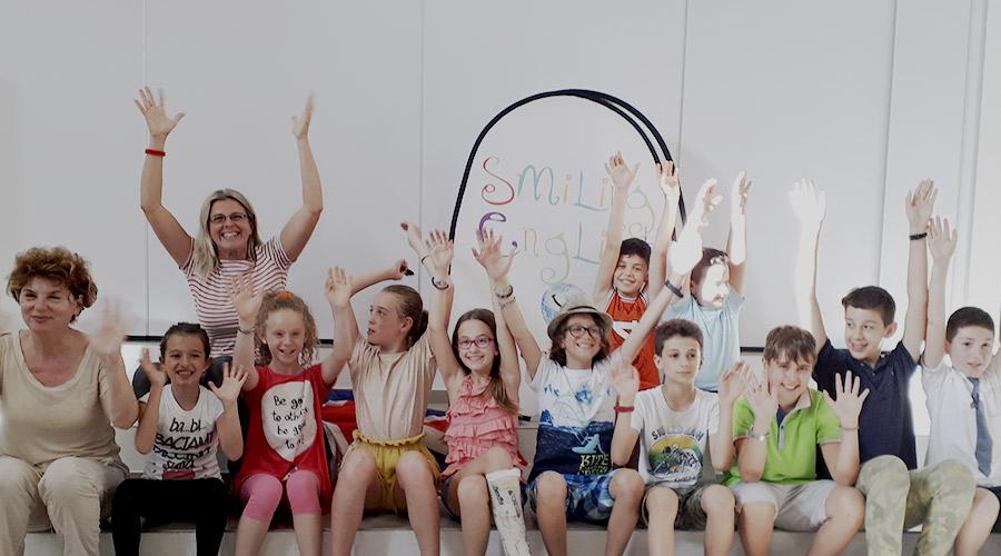 imparare inglese fano open day teacher e bambini