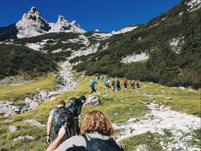 vacanze in montagna per studiare inglese